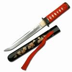 T006 Rot/schwarz Tanto Messer